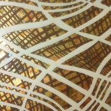 Detail English Plantain Abstract